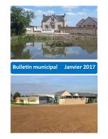 Bulletin municipal – 2017 01