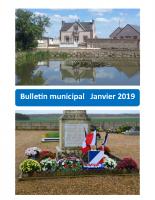 Bulletin municipal – 2019 01