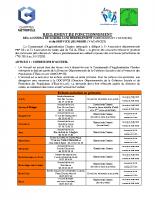 Réglement de fonctionnement 2016-2020 – Dernière version avec St-Léger – Secteur Chartres métropole