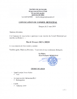 CONVOCATION CM 2019 03 26