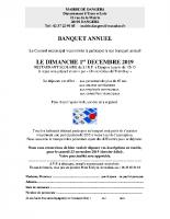 2019 12 01 – INVITATION BANQUET