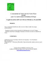 Offre à pourvoir agent de service – ALSH Bailleau-l'Evêque – 01 à 08 2020