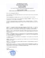 ARRETE DE CIRCULATION 2020 03