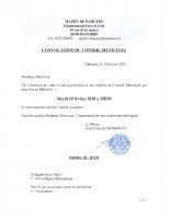 CONVOCATION CM 2020 02 18