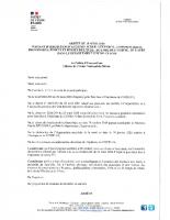 Arrêté portant interdiction d'accès aux espaces publics
