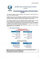 RE OUVERTURE DECHETTERIES A CPTER DU 11.05.2020
