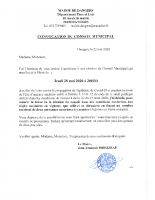 CONVOCATION CM 2020 05 28
