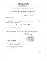 CONVOCATION CM 2020 06 30