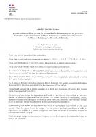 2021 09 24 – ARRETE OBLIGATION PORT DU MASQUE