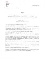 Obligation du port de masque-département3