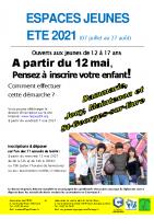 ESPACES JEUNES Eté 2021 – Accueil 12-17 ans – Chartres métropole